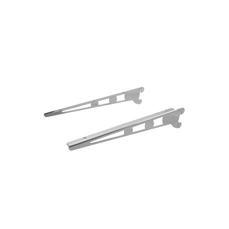 Wsporniki półki poziome / pochyłe o długości 37 cm UV022-B