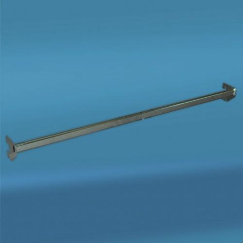 """Poprzeczka srebrna """"prosta"""" o długości 100 cm CH.87/100"""