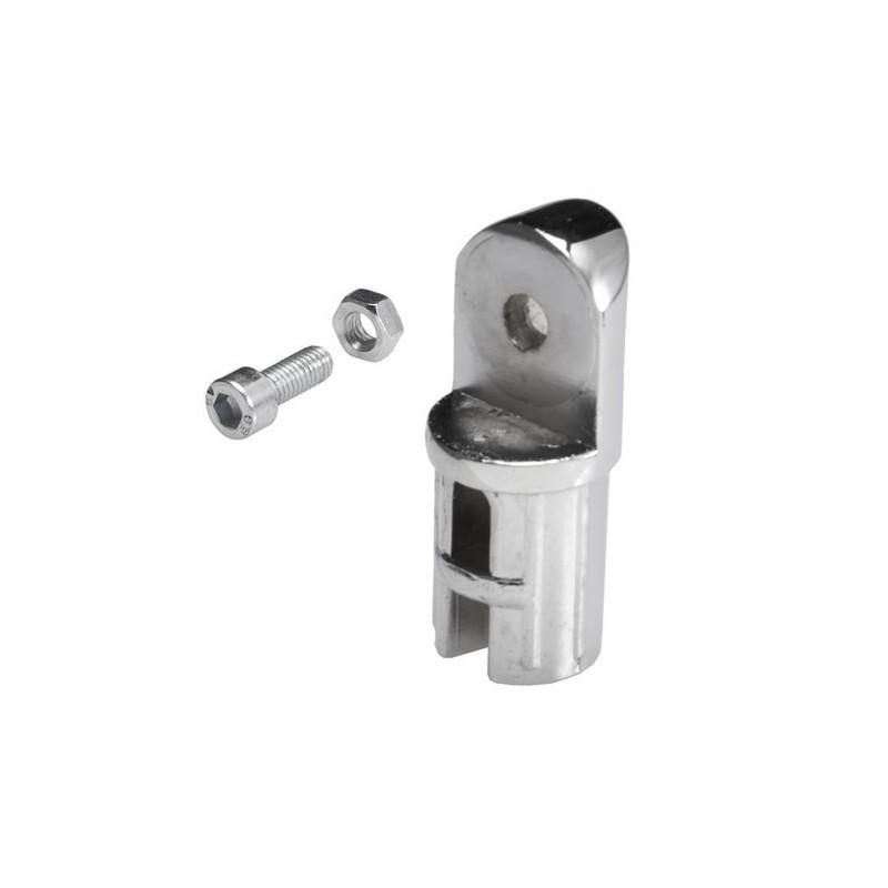 Połowa złącza zawiasowego do rury fi 25 mm AC545-0