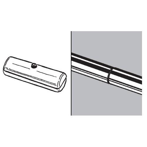 Przedłużka do rury fi 25 mm AC513-0-ALU