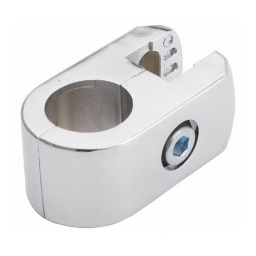 Złącze pojedyncze do płyty lub szkła do rury fi 25 mm TR550-A