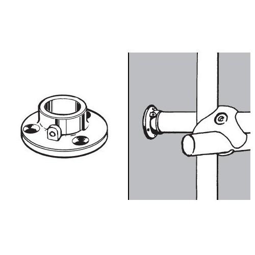 Końcówka mocująca z blokadą do rury fi 25 mm AC510-0-1