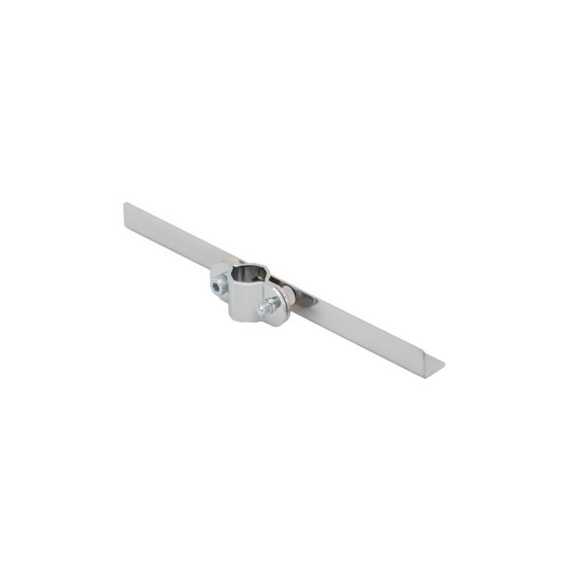 Wspornik półki pojedynczy symetryczny do rury fi 25 mm TR532-0