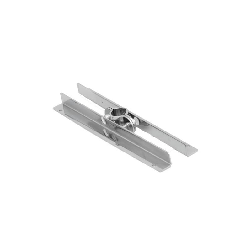 Wspornik półki podwójny symetryczny do rury fi 25 mm TR533-0