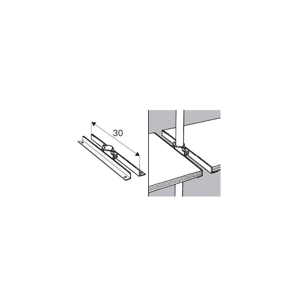 Wspornik Półki Podwójny Symetryczny Do Rury Fi 25 Mm Tr533 0