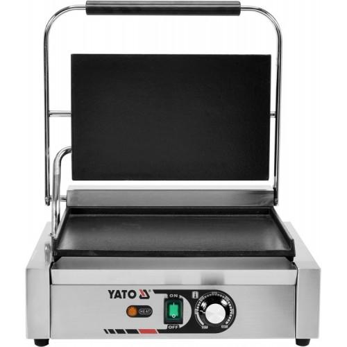 Elektryczny grill kontaktowy panini w pełni płaski 44cm 2,2kw