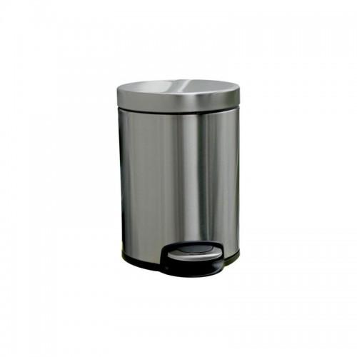 Kosz pedałowy z metalu o pojemności 5 litrów KIB413/MER