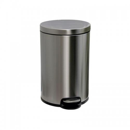 Kosz pedałowy z metalu o pojemności 12 litrów KIB414/MER