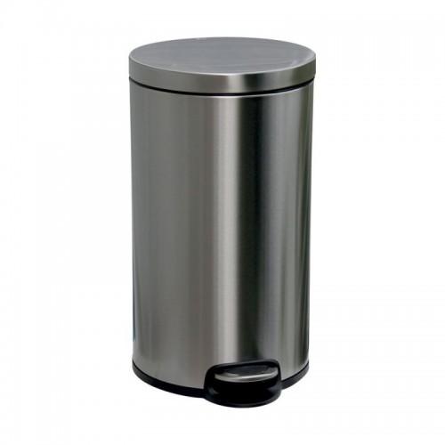 Kosz pedałowy z metalu o pojemności 30 litrów KIB416