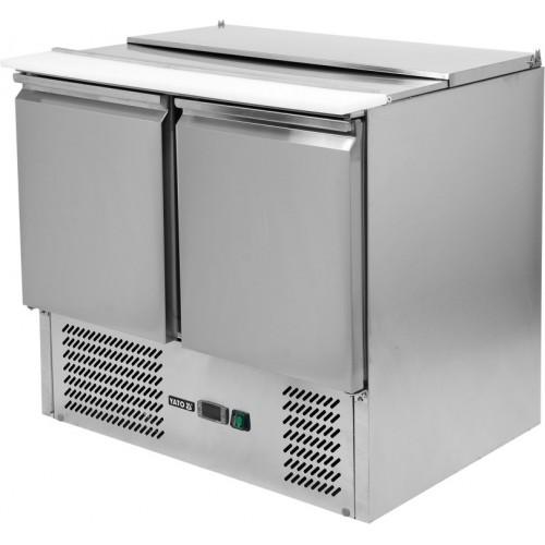 Stół chłodniczy 240l 2 drzwiowy z pokrywą