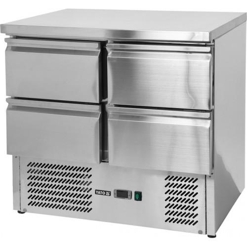 Stół chłodniczy 220l z 4 szufladami