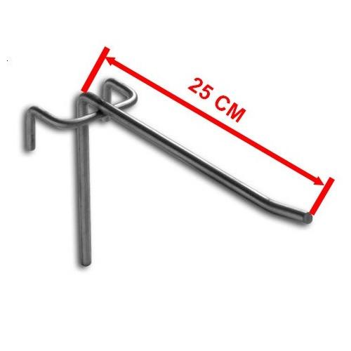 Zawieszka pojedyncza na kratę o długości 25 cm ZP25/OST