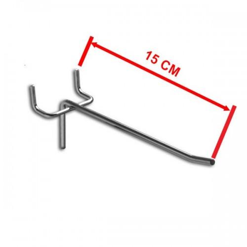 Zawieszka pojedyncza na perforację o długości 15 cm rozstaw otworów 50 mm ZP15-E/OST