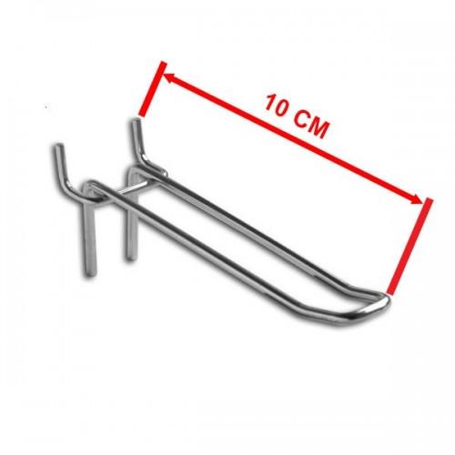 Zawieszka podwójna na perforację o długości 10 cm rozstaw otworów 50 mm ZD10-E/OST