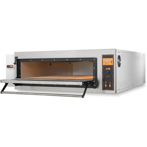 Piec elektryczny piekarniczy modułowy szamotowy z podwyższaną komorą 2x600x400 BAKE D4H
