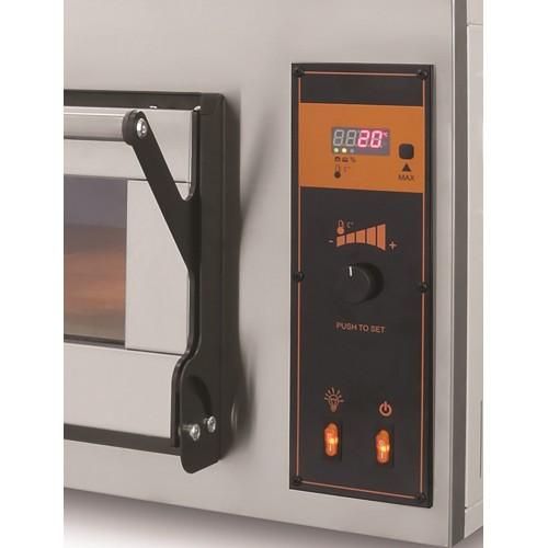 Piec elektryczny piekarniczy modułowy szamotowy 8x600x400 BAKE D66/L