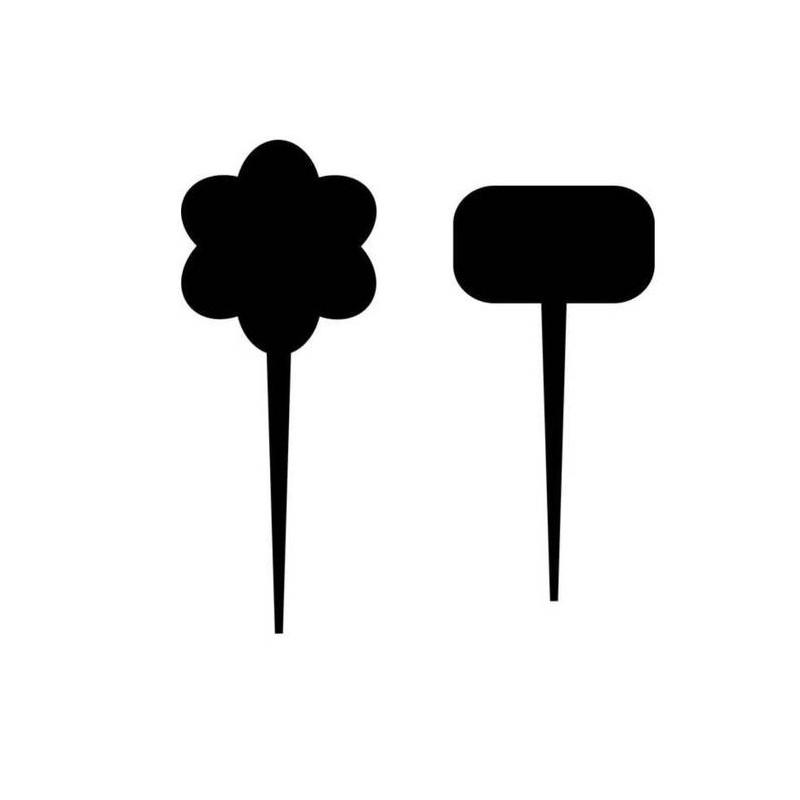 Cenówki KREDOWE do kwiatów lub roślin CE0097/CE0096