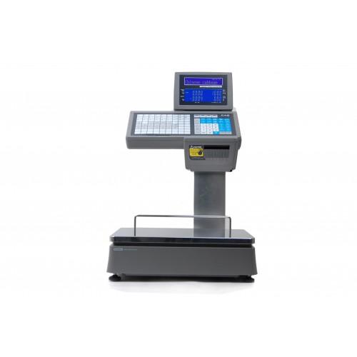 Waga drukująca etykiety zakres ważenia 15 kg CAS CL5500D Wi-Fi