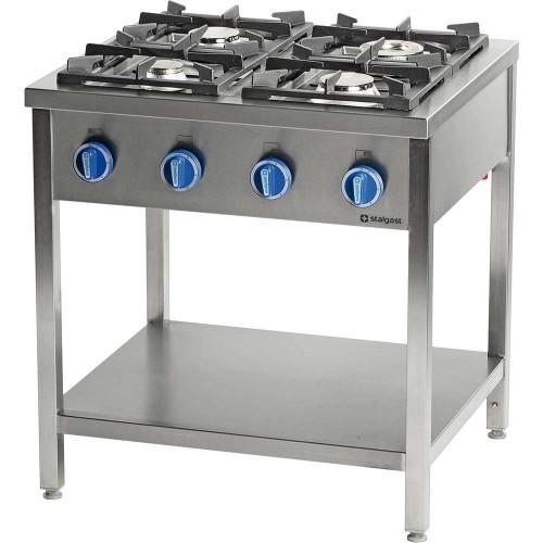Kuchnia gazowa, 4-palnikowa, 900 mm, 20.5 kW, G20