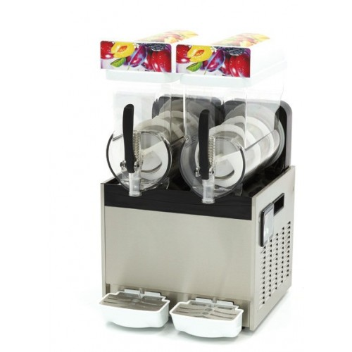 Granitor - Urządzenie do napojów lodowych slush shake  2 zbiorniki 2x15 litrów MS2x15