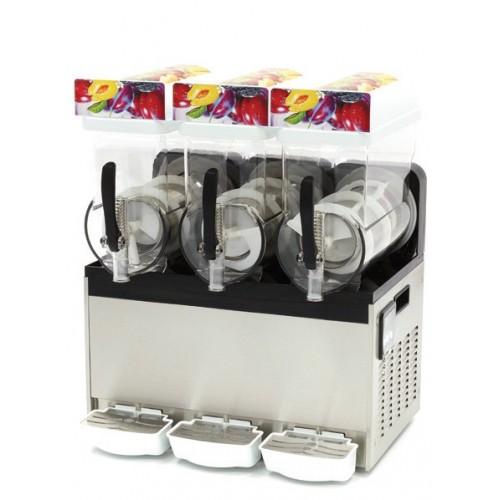 Granitor  Urządzenie do napojów lodowych slush shake  3 zbiorniki 3x15 litrów  MS3x15