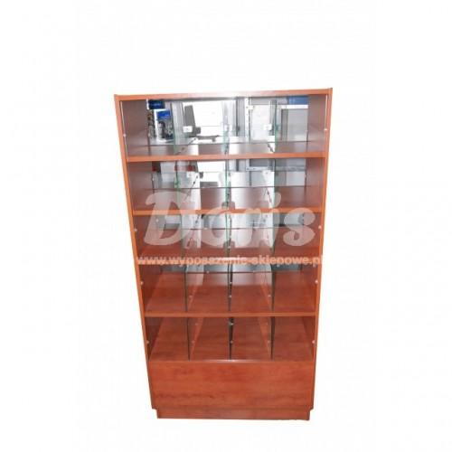 Lada witryna cukiernicza o wymiarach 80x60x160 cm LGC-80/ALB