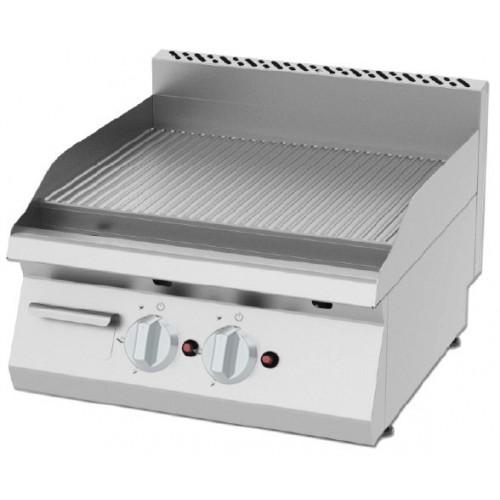 Płyta grillowa gazowa, ryflowana  8 kW KGOI-6060