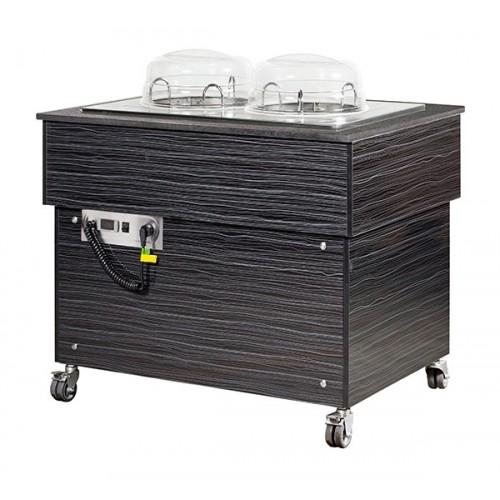 Dystrybutor grzewczy jezdny do talerzy  – linia Premium  MTD810B