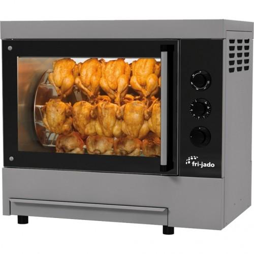 Rożen, opiekacz do 16 szt. kurczaków do sklepu, gastronomii Frijado TG4