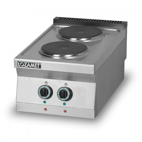 Kuchnia elektryczna 2-płytowa