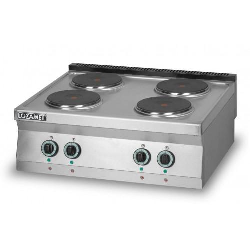 Kuchnia elektryczna 4-płytowa