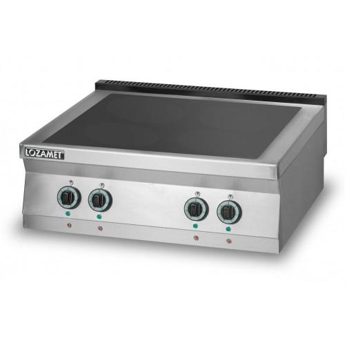 Kuchnia elektryczna z płytą ceramiczną 4-polową