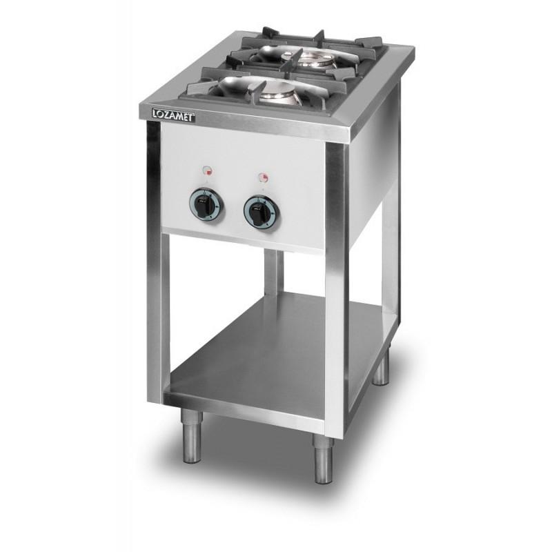 Kuchnia gazowa 2-palnikowa