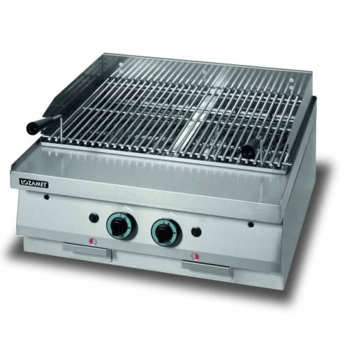 Lava grill gazowy o wymiarach 700 x 650 x 270 mm