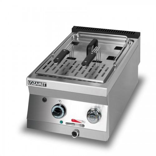 Warnik elektryczny do makaronu o wymiarach 400 x 700 x 280 mm