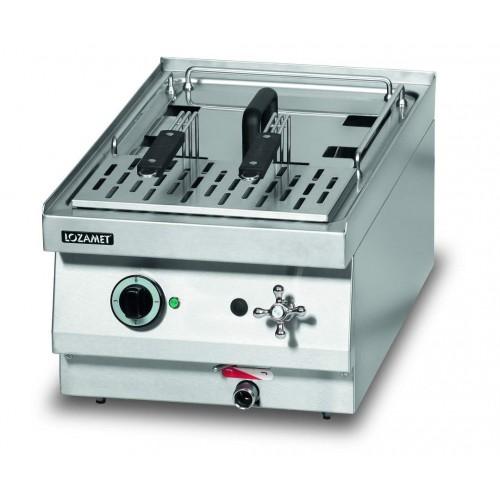 Warnik elektryczny do makaronu o wymiarach 400 x 650 x 270 mm