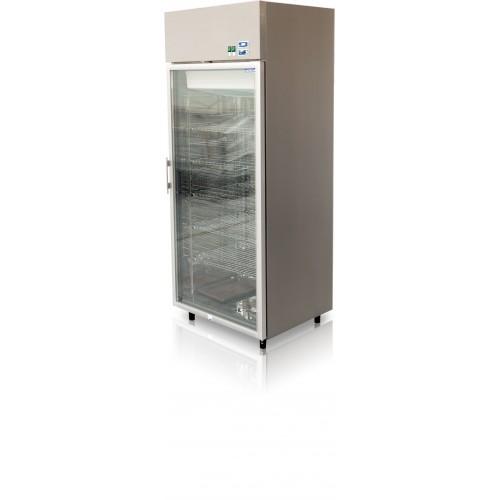 Szafa mroźnicza do sklepu, gastronomii, przeszklona o długości 81.8 cm JOLA 700.1 AG M/JO100.1/AG/M