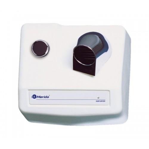 Elektryczna suszarka do włosów posiadająca obudowę żeliwną E85H/MER