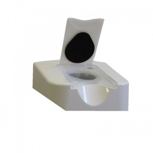 Dozownik nasączonych ściereczek wykonany z tworzywa ABS DW002/MER