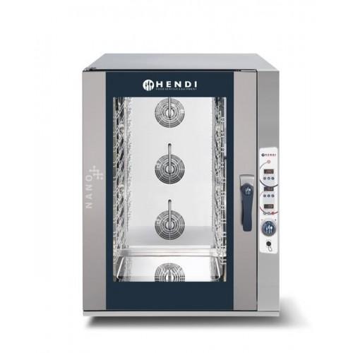 Piec konwekcyjno-parowy Hendi Nano - elektryczny, sterowanie elektroniczne 7x GN 1/1