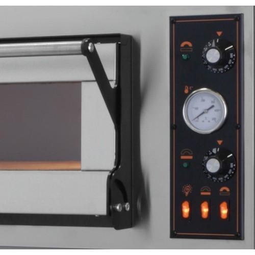Piec elektryczny piekarniczy modułowy szamotowy na blachy 2x600x400 mm