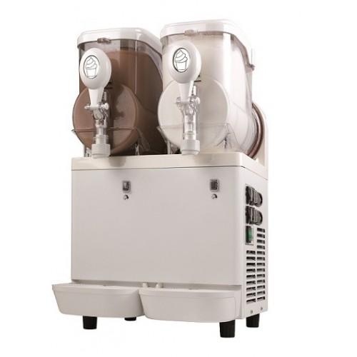Urządzenie do sorbetów, lodów i mrożonych jogurtów o pojemności 10 litrów
