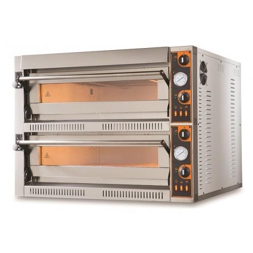 Elektryczny piec do pizzy dwukomorowy 12x36