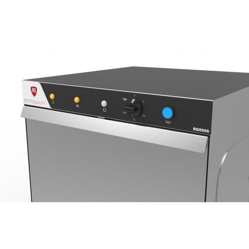 Zmywarka gastronomiczna uniwersalna z koszem o wielkości 500x500 mm oraz pompą spustową 230V