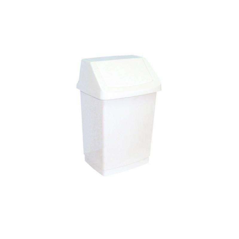 Kosz na odpady z uchylną pokrywą z tworzywa sztucznego o pojemności 9 litrów B8A/MER