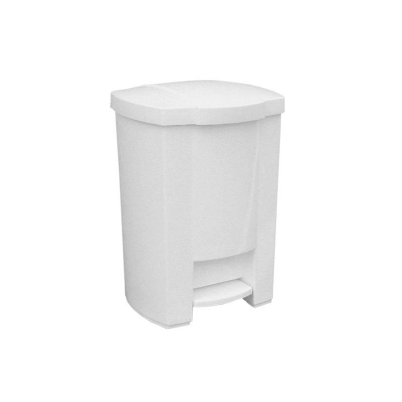 Kosz na odpady otwierany przyciskiem pedałowym o pojemności 12 litrów KAB402/MER
