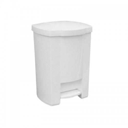 Kosz na odpady otwierany przyciskiem pedałowym z tworzywa sztucznego o pojemności 20 litrów KAB403