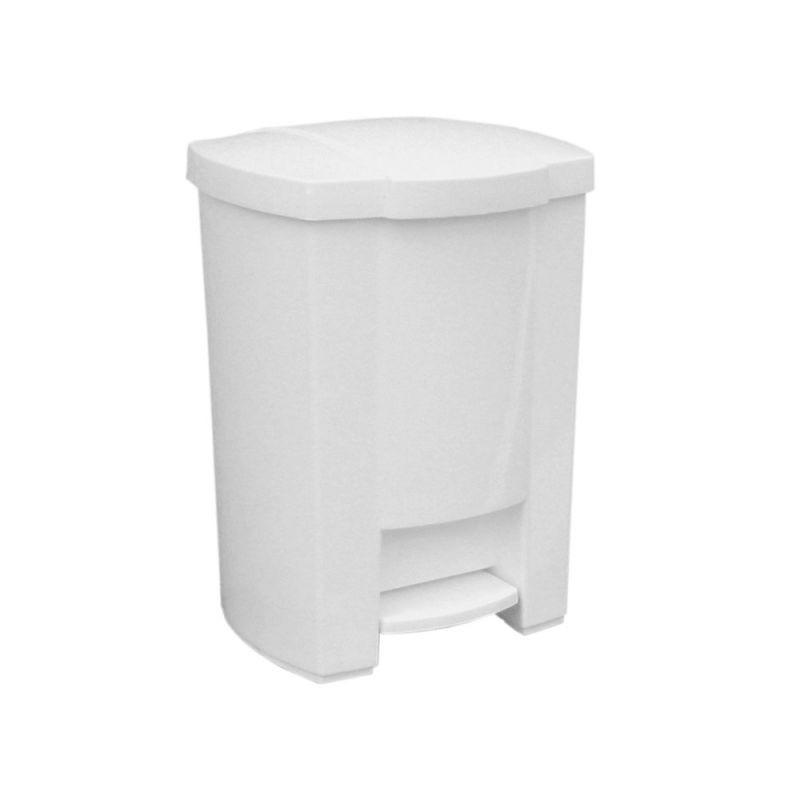 Kosz na odpady otwierany przyciskiem pedałowym o pojemności 28 litrów KAB404/MER