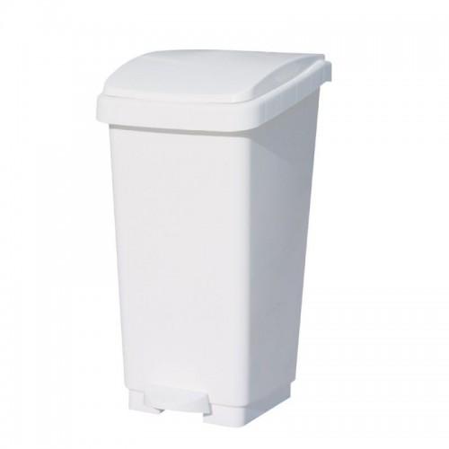 Kosz na odpady otwierany przyciskiem pedałowym z tworzywa sztucznego o pojemności 50 litrów KAB405