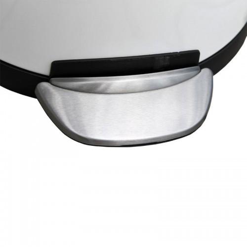 Kosz pedałowy wykonany z metalu o pojemności 8 litrów KIB419/MER